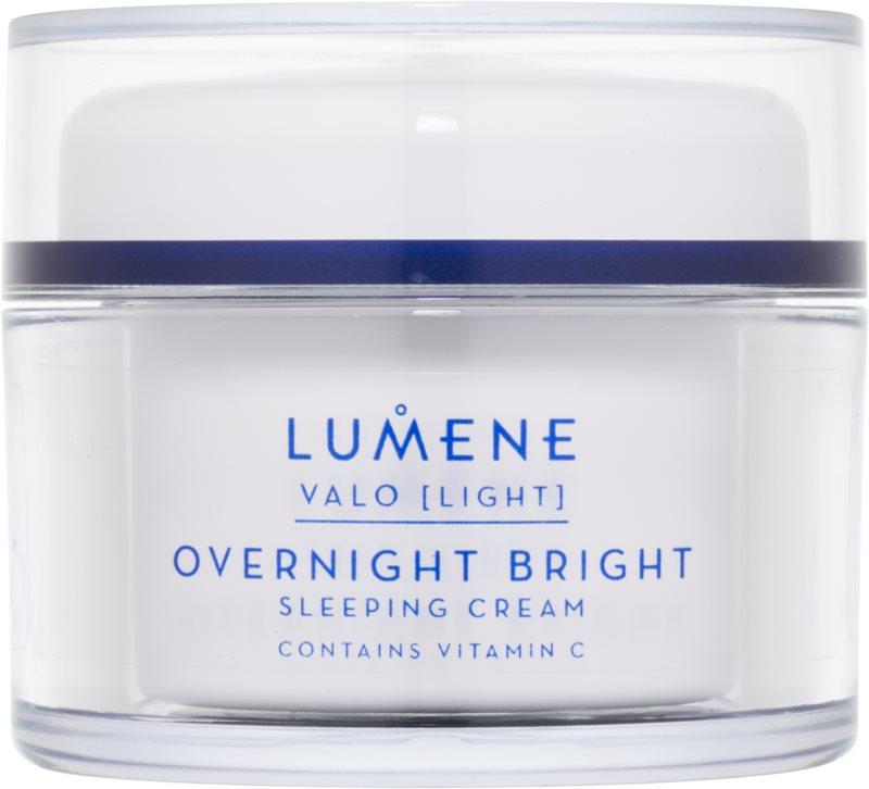 Lumene Valo [Light] posvetlitvena nočna krema z vitaminom C